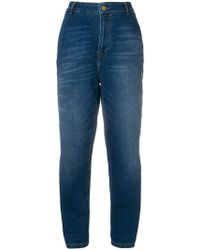 Essentiel Antwerp - High Rise Cropped Jeans - Lyst