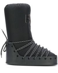 Fendi パデッド ブーツ - ブラック