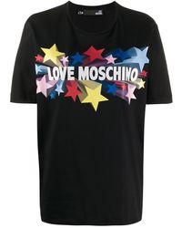 Love Moschino - スター Tシャツ - Lyst
