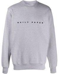 Daily Paper ロゴ スウェットシャツ - グレー