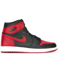 Nike - 'Air Jordan 1 Retro High OG Banned' Sneakers - Lyst