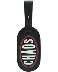Chaos Graphic luggage Tag - Black