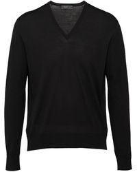 Prada クラシック セーター - ブラック