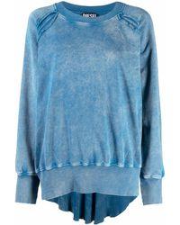 DIESEL F-roxxy-b1 スウェットシャツ - ブルー