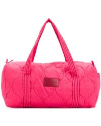 See By Chloé - Quilted Duffle Tote - Lyst
