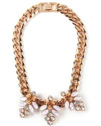 Mawi - 'triple Firefly' Necklace - Lyst