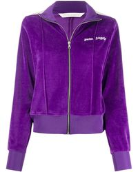Palm Angels Giacca con zip - Viola