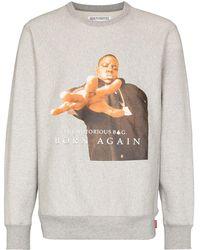 Wacko Maria X The Notorious B.i.g. 'born Again' スウェットシャツ - グレー