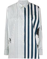 Paul Smith オーバーサイズ シャツ - ホワイト