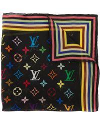 Louis Vuitton Foulard semi trasparente Pre-owned - Nero