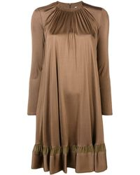 Chloé シフトドレス - ブラウン