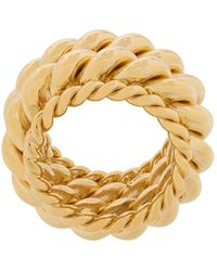 ISABEL LENNSE Twisted Spin Ring - Multicolour