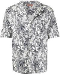 Missoni Рубашка С Короткими Рукавами И Абстрактным Принтом - Белый