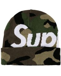 Supreme - ロゴ ビーニー - Lyst