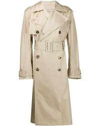 Valentino Uniform Couture Trench Coat - Natural