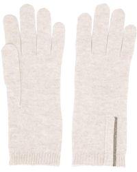 Brunello Cucinelli - ファインニット 手袋 - Lyst