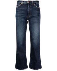 3x1 Farrah クロップド ワイドジーンズ - ブルー