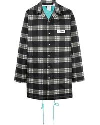 PUMA Однобортное Пальто Из Коллаборации С Rhude - Черный