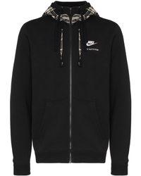 Nike Geruit Jack - Zwart