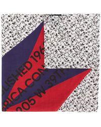 CALVIN KLEIN 205W39NYC - Branded Cowboy Scarf - Lyst