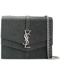 Saint Laurent - Casandra Monogram Cross-body Bag - Lyst