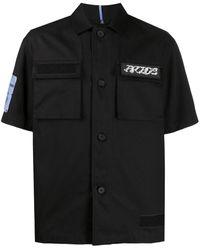 McQ Рубашка С Короткими Рукавами И Логотипом - Черный