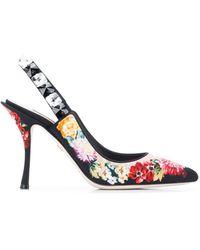 Dolce & Gabbana - Lori スリングバックサンダル - Lyst