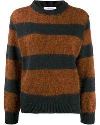 Roseanna ストライプ セーター - ブラウン
