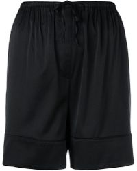 Totême  - Drawstring Fitted Shorts - Lyst
