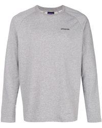 Patagonia - Back Print Logo Sweatshirt - Lyst