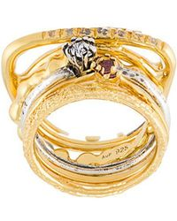 Iosselliani | 'silver Heritage' Ring Set | Lyst