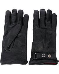 Alexander McQueen Однотонные Перчатки - Черный