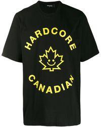 DSquared² - Hardcore Tシャツ - Lyst