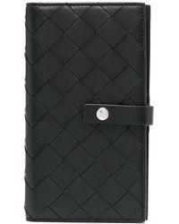 Bottega Veneta Cover per iPhone X con design Intrecciato - Nero