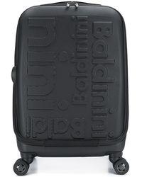 Baldinini Reisekoffer mit Logo-Prägung - Schwarz