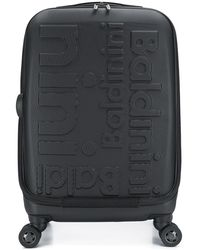 Baldinini Embossed Logo Trolley - Black