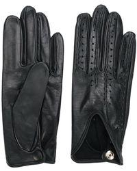 Gala Uitgesneden Handschoenen - Zwart