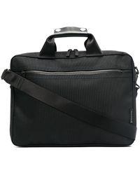 Porter スリム ビジネスバッグ - ブラック