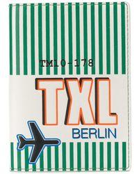 Tila March Berlin Passport Cover - Green