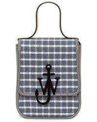 JW Anderson Top Handle Anchor Bag - Grey