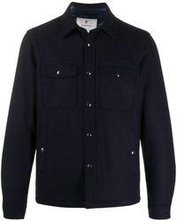 Woolrich Стеганая Куртка-рубашка Alaskan - Синий