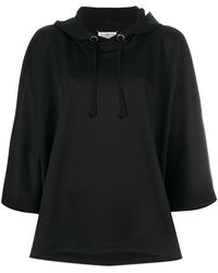 Maison Margiela | Loose Fit Cropped Hoodie | Lyst