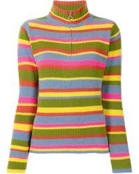 The Elder Statesman Rainbow Knit Jumper - Multicolour
