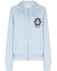 CHARLES JEFFREY LOVERBOY The Scun パーカー - ブルー
