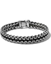 David Yurman - Woven Box Chain Bracelet - Lyst