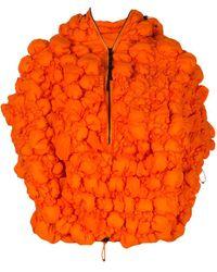 Angel Chen Gesteppte Oversized-Jacke - Orange