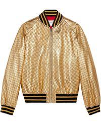 Gucci Guccy ボンバージャケット - マルチカラー