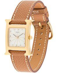 Hermès Наручные Часы Pre-owned С Квадратным Корпусом - Многоцветный