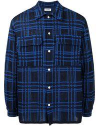 Coohem チェックシャツ - ブルー