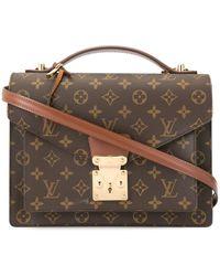Louis Vuitton 'Monceau 28' Handtasche - Braun